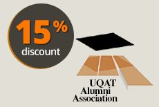 Partner Discount 15 % UQAT Alumni Association