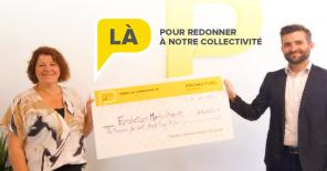 $125,000 donation to the Marie-Vincent Foundation